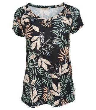 Gemma Ricceri Shirt zwart print Cita