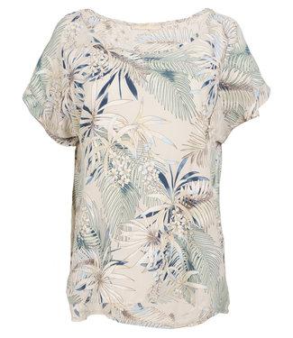 Gemma Ricceri Shirt beige print Duffy