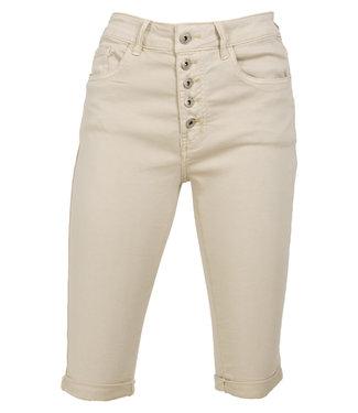 Wannahavesfashion Korte broek beige Bibian