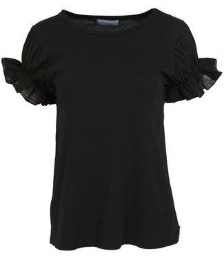 Azzurro Shirt zwart Kitty