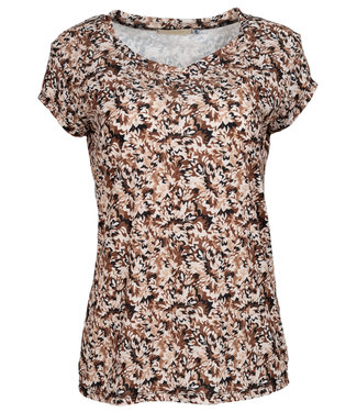 Gemma Ricceri Shirt bruin Lisan