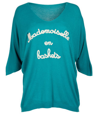 Wannahavesfashion Trui turquoise Benice