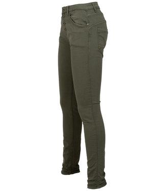 place du Jour Jog jeans groen Leonie