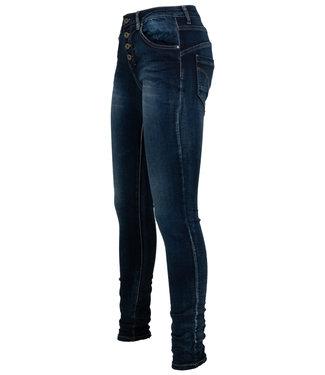 place du Jour Jog jeans Leonie dark used