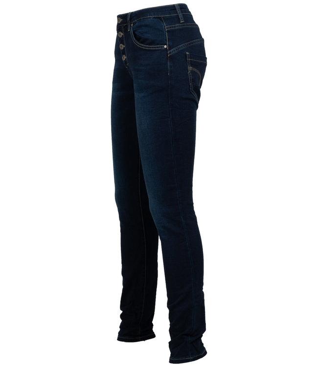 place du Jour Jog jeans Leonie donkerblauw