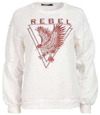Rebelz Collection Sweater ecru Rebel