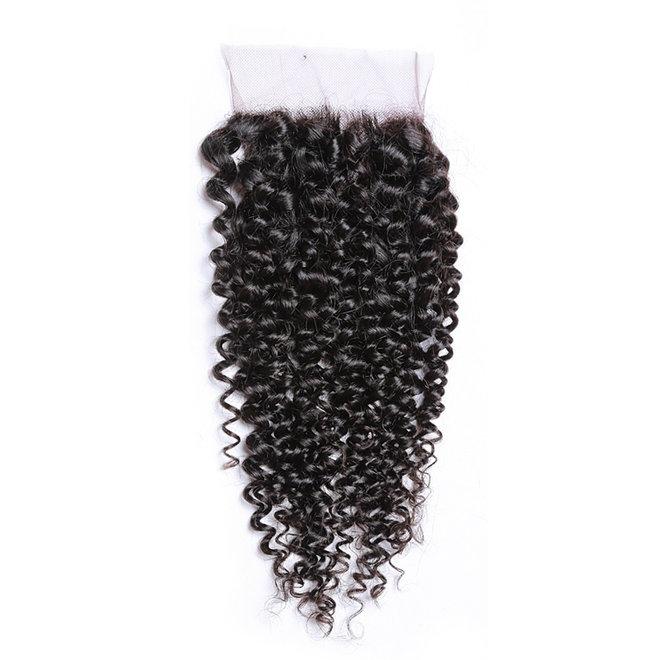 Silk Base Closure (4x4) Kinky Curls