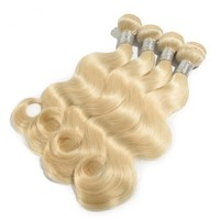 #613 Blond bodywave hair