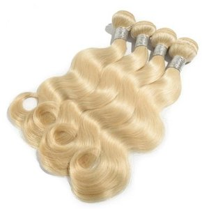 Celebs RAW Hair Cambodian hair #613 Blond bodywave