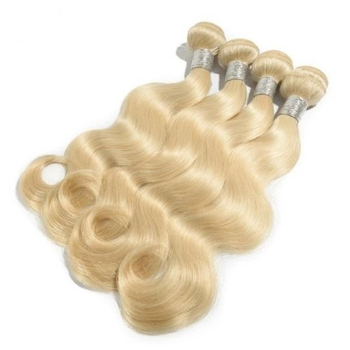 Celebs RAW Hair #613 Blond bodywave hair