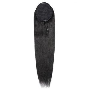 Celebs Virgin Hair Ponytail Straight