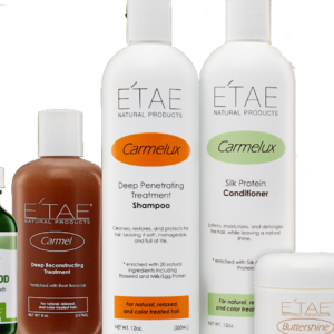 ETEA Natural Products Silkpress Deep Conditioning & Hair System