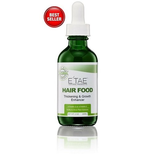 E'TEA Natural Products BEST SELLER! Hair Food Thickening & Growth Enchancer Serum