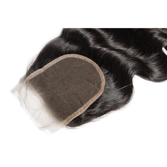 Closure 5x5 Indian hair (Bodywave)