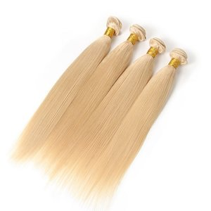 Celebs RAW Hair #613 Blond straight hair