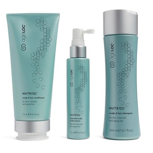 NuSkin AgeLOC Nutriol Scalp & Hair System