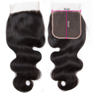 Celebs RAW Hair Closure 5x5 Vietnamese hair (Bodywave)