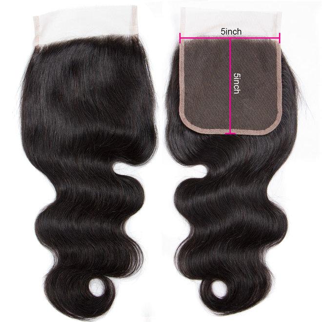 Closure 5x5 Vietnamese hair (Bodywave)