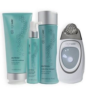 NuSkin AgeLOC Nutriol Scalp & Hairloss System incl. Galvanic Spa Scalp Activator