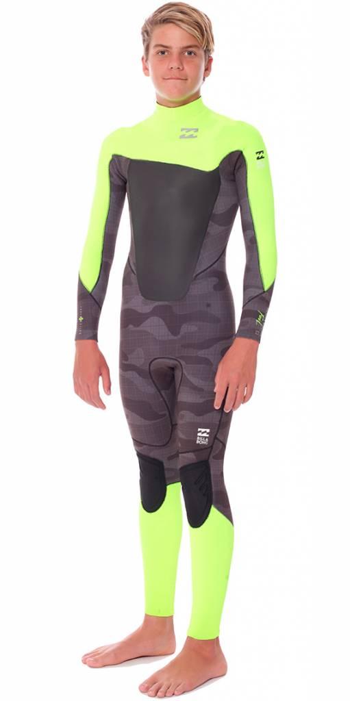 d055b0eeda Buy Billabong Foil Boys 5x4 Back Zip Steamer Wetsuit   The Sports Room