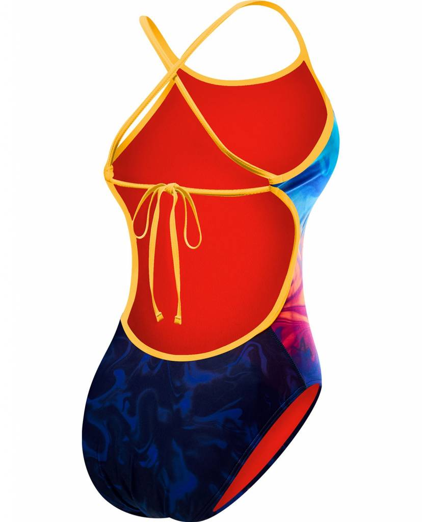 TYR TYR Cross Cut Fit Tie Back Ladies Swimsuit