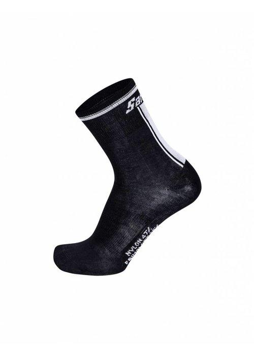 Santini Mid Profile Winter Socks Primaloft