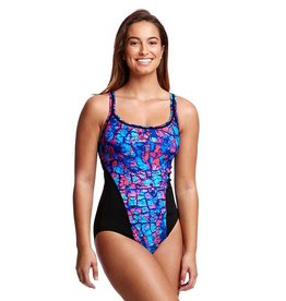Funkita Funkita Ladies Locked in Lucy One Piece (On the Surface)