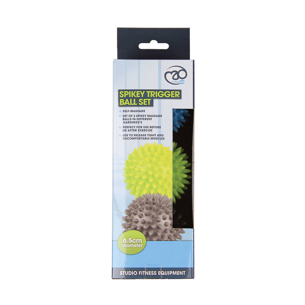Fitness Mad Fitness Mad Spikey Trigger Ball Set