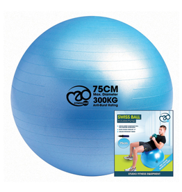 Fitness Mad Fitness Mad Swiss Ball,Pump and DVD 75cm