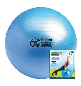 Fitness Mad Fitness Mad Swiss Ball,Pump & Pump 55cm