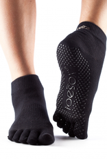 Fitness Mad Toesox Grip Ankle Full Toe Socks