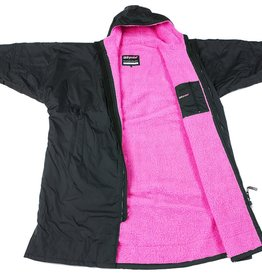 DryRobes DryRobe Advance Long Sleeve Black Pink