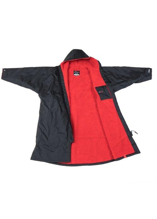 DryRobes dryrobe Advance Long Sleeve Black Red