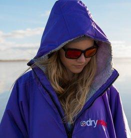 DryRobes dryrobe Advance Long Sleeve Purple Grey