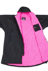 DryRobes DryRobe Advance Short Sleeve Black Pink
