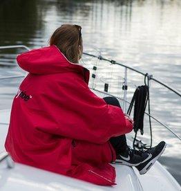 DryRobes dryrobe Advance Long Sleeve Red Grey