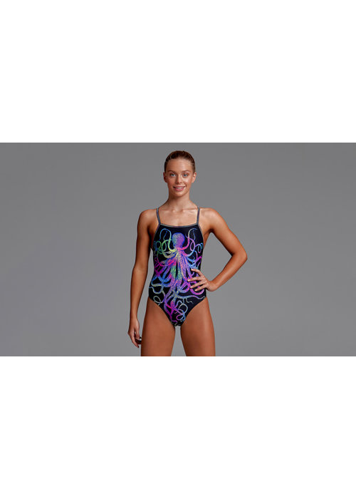 Funkita Funkita Girls Age 14 Strapped In One Piece (Colour Sphere)