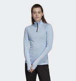 adidas Adidas Terrex Longsleeve Trace Rocker Half-Zip Women's Fleece