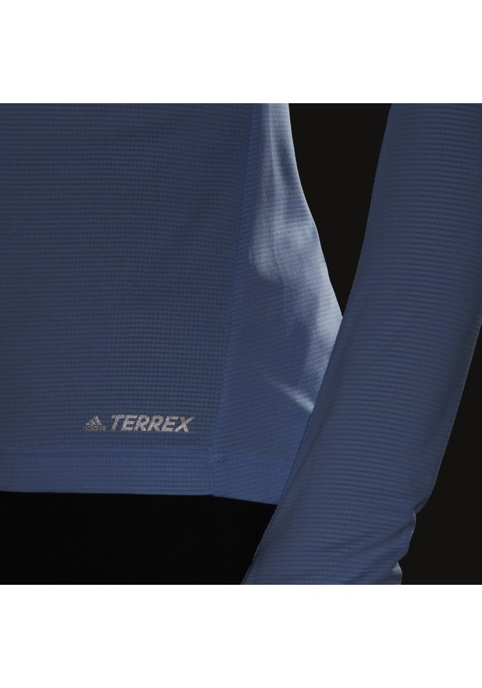 Adidas Terrex Longsleeve Trace Rocker Half-Zip Women's Fleece