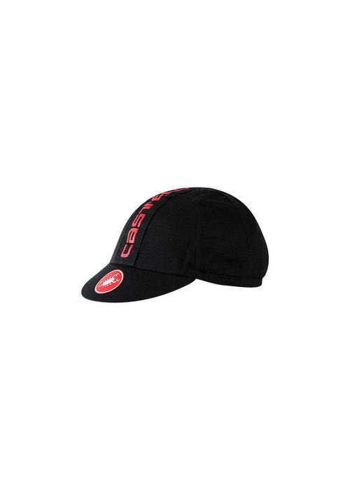 Castelli Castelli Retro 3 Cap Black (U)