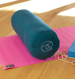 Fitness Mad Fitness Mad Organic Cotton Yoga Bolster Blue