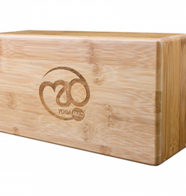 Fitness Mad Fitness Mad Hollow Bamboo Yoga Brick