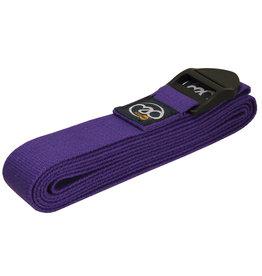 Fitness Mad Fitness Mad Yoga Belt 2.5m Purple