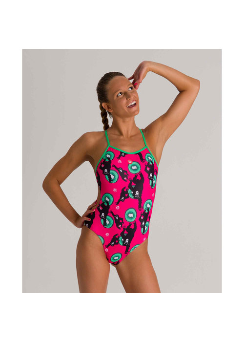 Arena Arena Women's Crazy Monkeys One Piece 30""