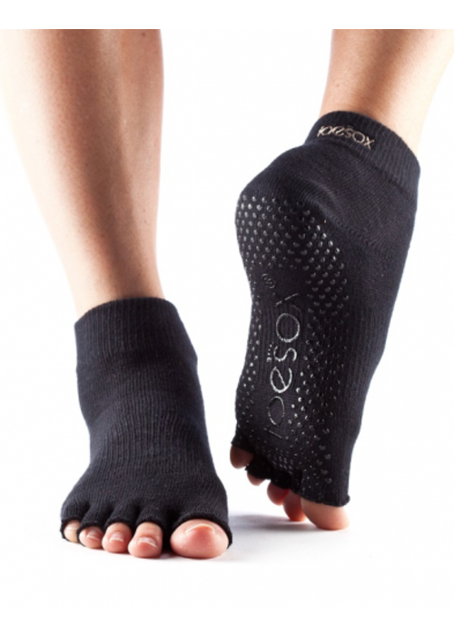 Toesox Toesox Ankle Grip Half Toe