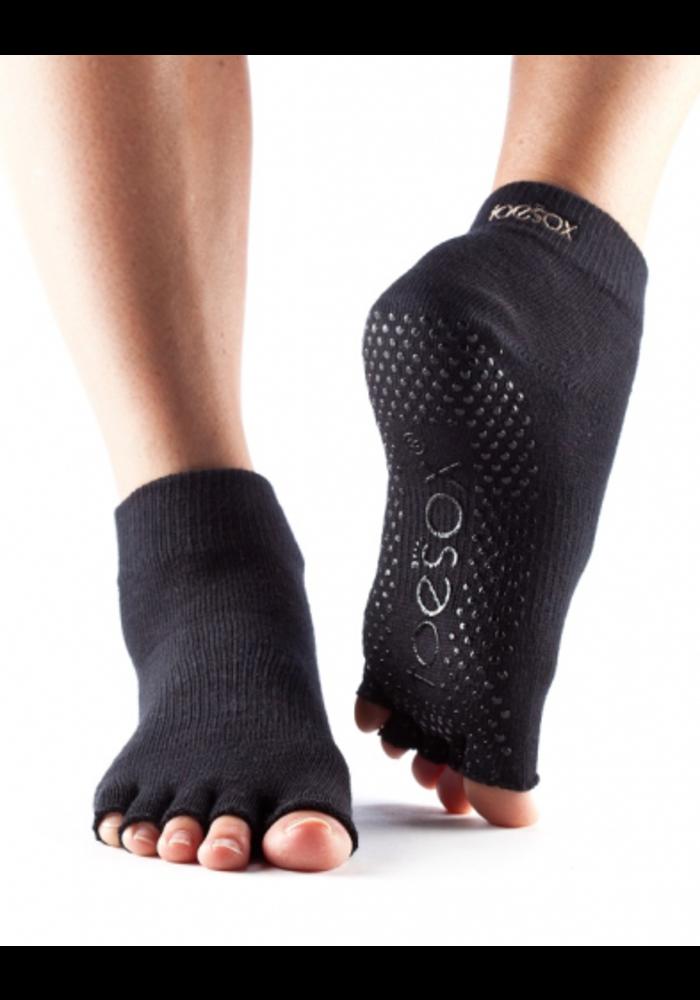 Toesox Ankle Grip Half Toe