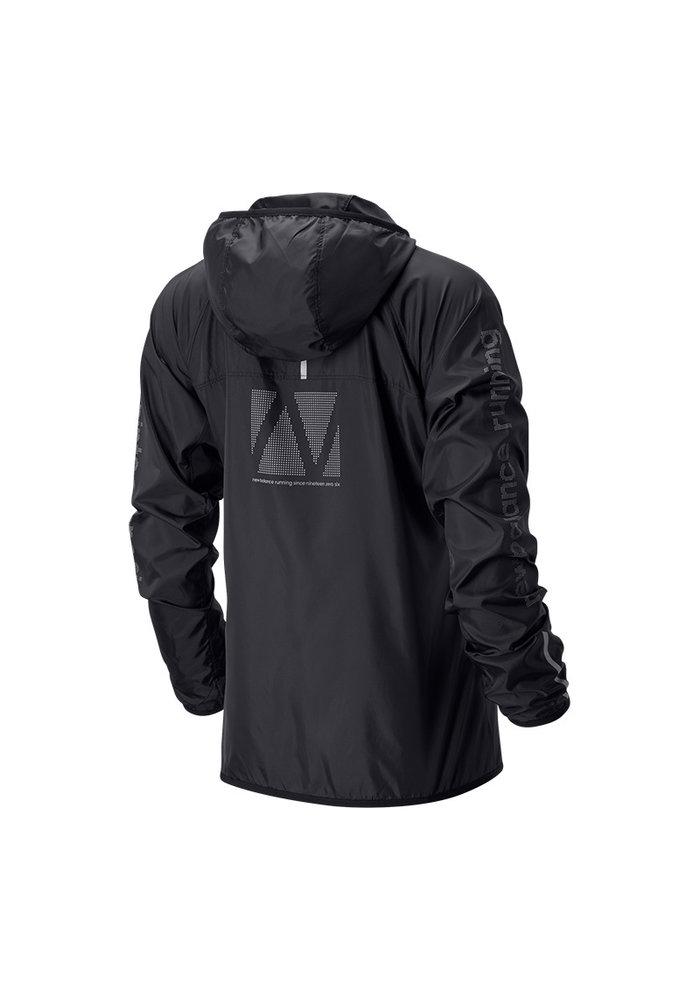 NB Accelerate Reflective Windcheater Jacket