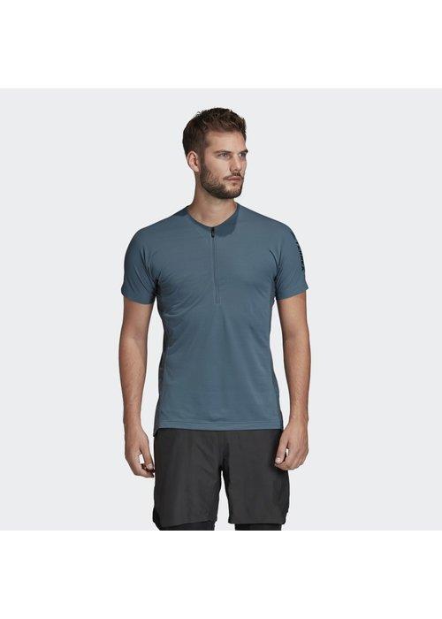 adidas adidas Terrex Agravic Zip Trail Running T-Shirt