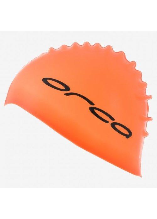 Orca Orca Silicone Swim Cap Orange
