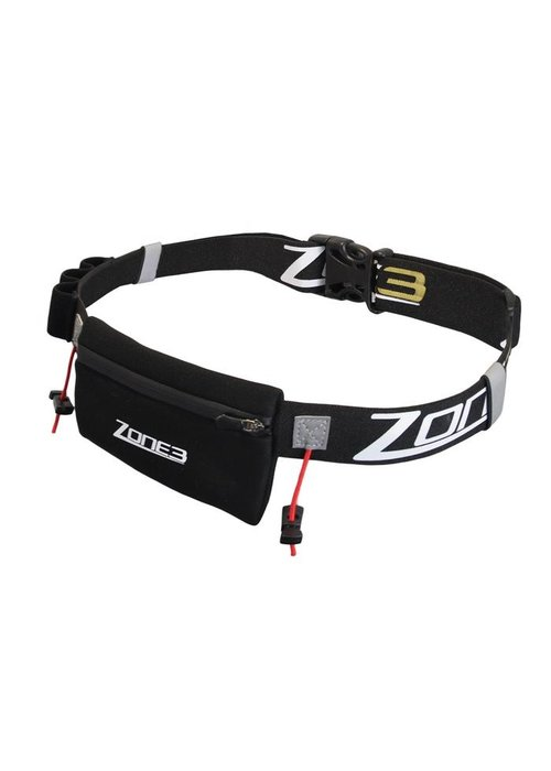 Zone 3 Zone3 Endurance Number Belt with Neoprene Fuel Pouch and Energy Gel Storage